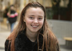 Sonia Nässén, 16 år, studerande, Sundsvall