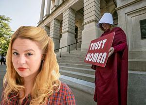 Isobel Hadley-Kamptz är liberal skribent och författare. Hon medverkar återkommande på DT:s ledarredaktion. Foto: TT/Bob Andres/Atlanta Journal-Constitution via A