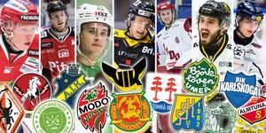 Veckans lista fokuserar på spelare som kan komma att överraska omgivningen nästa säsong i hockeyallsvenskan. Foto: Bildbyrån