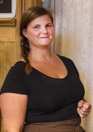 Lina Lundmark märker att intresset för hantverksbakat bröd har ökat. Fotograf: Denise Lindberg