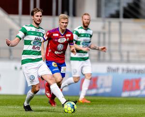 Jonas Hellgren var VSK:s bästa spelare mot Öster. Foto: Jonas Ljungdahl / BILDBYRÅN