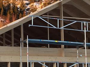 Brister i fallskyddet är ett stort problem inom byggbranschen, menar Peter Björklund, RSO Byggnads Mellannorrland.