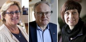 Glenn Nordlund (S), Region Västernorrland Lena Asplund (M), Region Västernorrland Ingeborg Viksten (L), Region Västernorrland