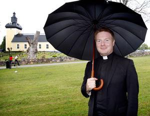 Ralph Sjöholm, kyrkoherde, vågar lova att den muslimska gravplatsen kan invigas i år. Arkivfoto: Mats Andersson