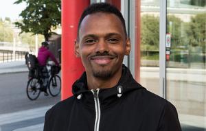 Adam Mohamed, 34 år, jobbar inom vården, Nacksta: