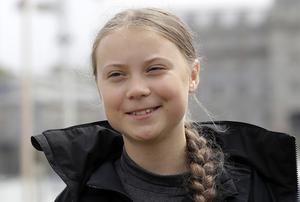 Greta Thunberg, aktivist på väg till USA, sjövägen. Photo/Kirsty Wigglesworth)