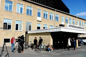 Junedalsskolan i Jönköping stängde den 30 mars och öppnade bara delvis efter påsklovet. På tisdagen återgår alla elever på heltid.
