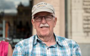 Kent Abrahamsson, 75 år, pensionär, Bosvedjan:
