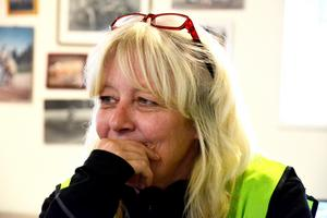 Therese Jigfjord, verksamhetsledare och operativ chef för Missing People Jönköping.