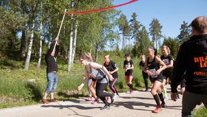 När Brandlöpet arrangerades för andra gången bjöd dagen på sol och många glada löpare som var taggade på att få springa.