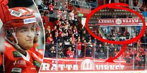 Rätta Virket-banderollen var tillbaka på Västra stå - och det var även den röststarka grupperingen.