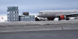 Bild från Åre Östersund flygplats.