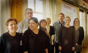 Caroline Källner, Ola Gilén, Edna Eriksson, Kristina Lundgren, Annika Strand, Dennis Kullman, Lovisa Mases och Maria Lundgren är några av de som sett till att jämställdhet och integration hamnat på schemat.