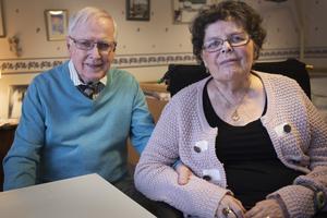 Bror-Arne och Mona Lundqvist träffas nästan varje dag trots att de numera bor på var sitt håll.