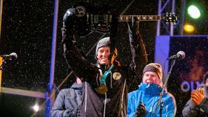 André Myhrer hyllas på hemmaplan efter OS-guldet.