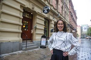 Nina Widenberg öppnar upp sin butik så fort renoveringen är klar.