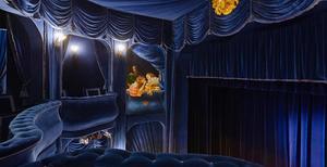 Teater och bio salong. Foto: Privat