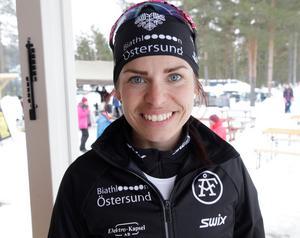 Elisabeth Högberg tog guld i år igen.