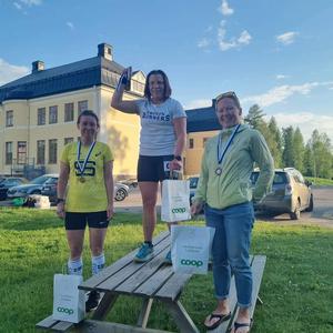 Vinnare Malin Holmgren från Gävle. Foto: Christian Länk