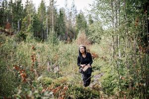 Dang plockar även mycket svamp under hösten, Karl-Johan är favoriten.