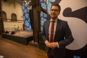 Jimmie Åkesson (SD) står för den enda säkra ökningen i rikets partisympatier.
