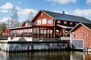 Restaurangen Skatans Café och Krog där Kalla och hennes vän tog en lunch.