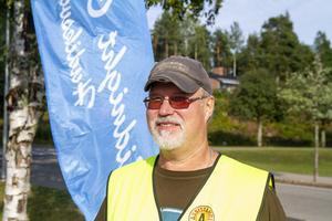 Gösta Blomqvist från Mindnight Cruisers. Han berättar att det är flera unga som söker sig till klubben som ökar i antalet medlemmar.
