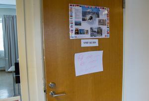 Ingen lektion var planerad under onsdagen i det klassrum som haft inbrott.