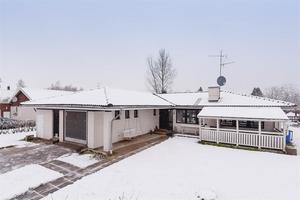 Enplanshus med fem rum i Avesta. Foto: Ateljé Linslusen