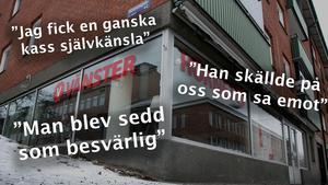 Flera personer som vi pratat med vittnar om en stämning som gör det svårt att säga emot Leif Lindström.