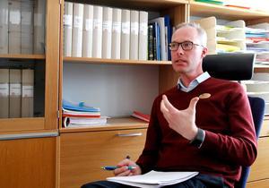 Ulf Carlsson, grundskolechef i Hudiksvalls kommun.
