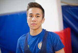 Erik Soini, 17, blev fyra på senior-SM i januari