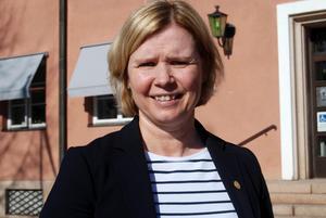 Malin Höglund, socialnämndens ordförande i Mora. Arkiv.
