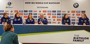 Sveriges singelmixstafettlag och mixedstafett var nöjda efter helgens VC-start.