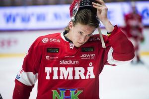 Marcus Hardegård, en back som Timråtränaren gärna ser i uppställningen i en större roll nästa säsong.