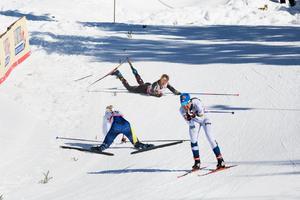 Kraschen grusade finalhoppet för Maja Dahlqvist.