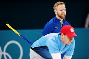 Niklas Edin kom inte upp i normal nivå i OS-finalen.