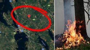 Brandbilden har inget direkt samband med denna händelse.