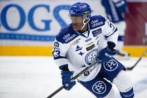 Hugo Enock blir kvar i Leksand november ut. Bild: Daniel Eriksson/Bildbyrån.