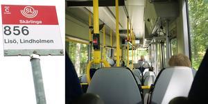SL har skrotat sina planer på att införa anropsstyrd trafik på linje 856 från Spångbro till Lisö.