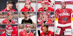 Tolv spelare har lämnat Timrå sedan SHL-avancemanget. Bild: Bildbyrån/Montage