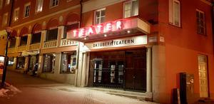 Oktoberteatern har ett årligt hyresbidrag på nära 1,5 miljoner kronor.