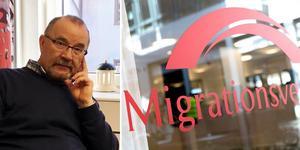 Roger Johansson (VI), ordförande i Samhällsutvecklingsutskottet, förklarar varför Sollefteå tar emot betydligt färre flyktingar 2020 än tidigare år. Foto: arkiv