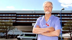 Jonas Wallvik, ordförande för Medelpads läkarförening, pekar på att bekymren vid barnkliniken i Sundsvall är av minst samma dignitet som bemanningsproblemen vid kirurgin på Örnsköldsviks sjukhus: