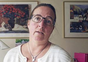 Marion Vaeggemoseordförande, Vårdförbundet avdelning Dalarna.