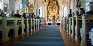 På lördag blir det konsert i Söderbärke kyrka.