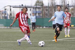 Match på Lärkan mot Athletic 2013.