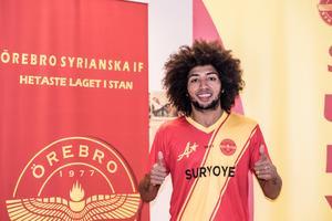 Alex Brilhante de Sousa lämnar Kumla för Örebro Syrianska. Bild: Örebro Syrianska