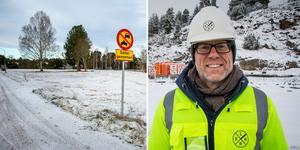 Tore Berglund hoppas att det snart ska finnas en godkänd detaljplan för området vid södra brofästet i Leksand. (Foto: Klockar Mattias Nääs, Bo Wikman)