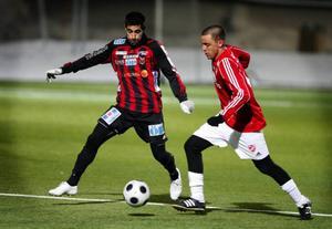 Alan Al-Kadhi slet sin vana trogen hårt på sin kant när ÖFK avancerade till DM-final i går efter 2–0 mot IFK Östersund.
